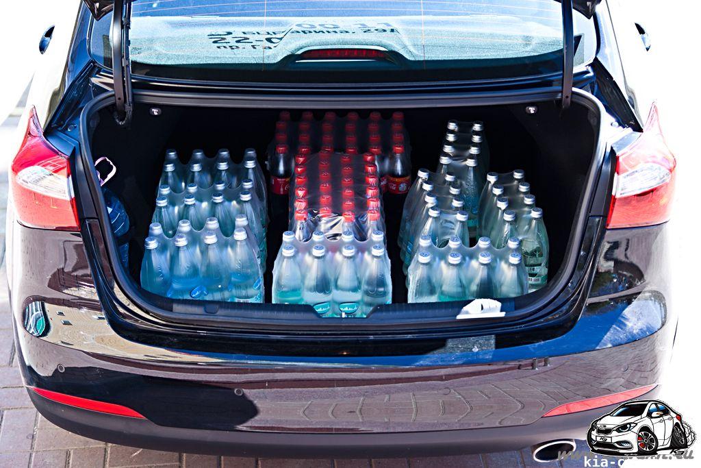вместимость багажника by Zeroing in Интерьер