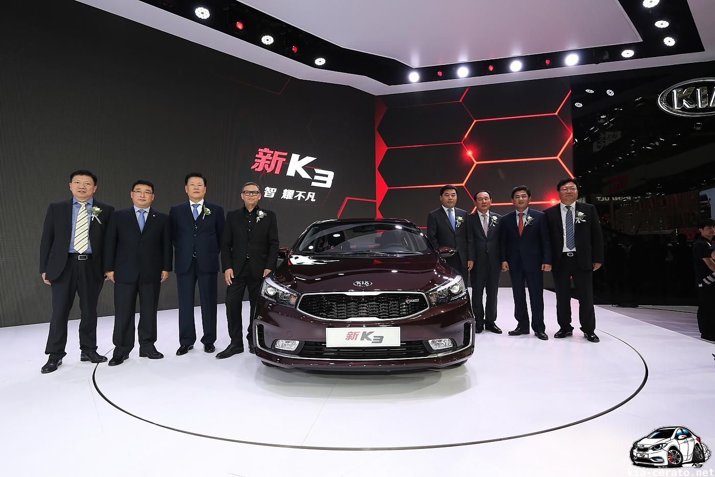 KIA Cerato (K3) 2017 facelift by Zeroing in KIA Cerato (k3) 2016 facelift