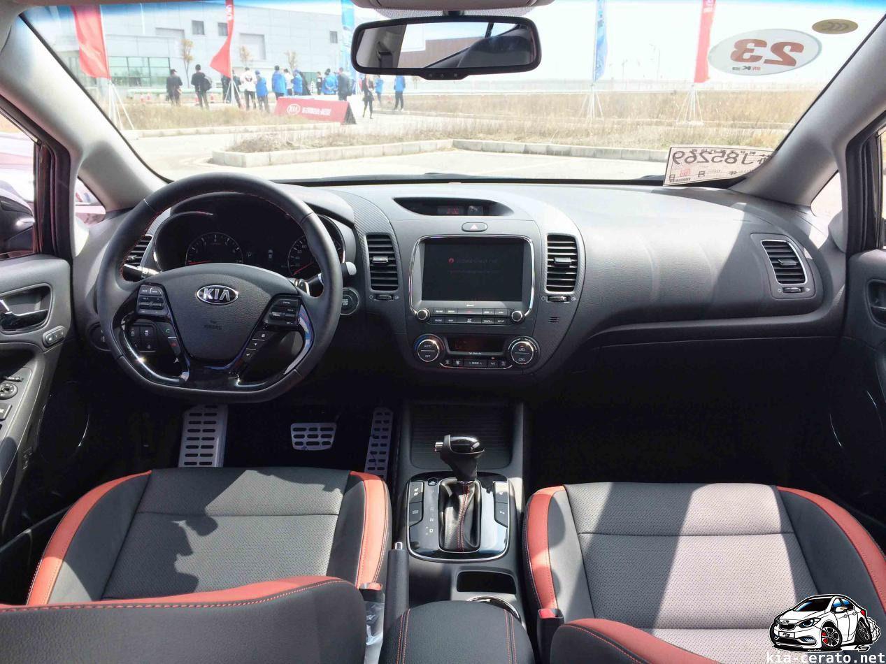 interior KIA Cerato (K3) 2017 facelift