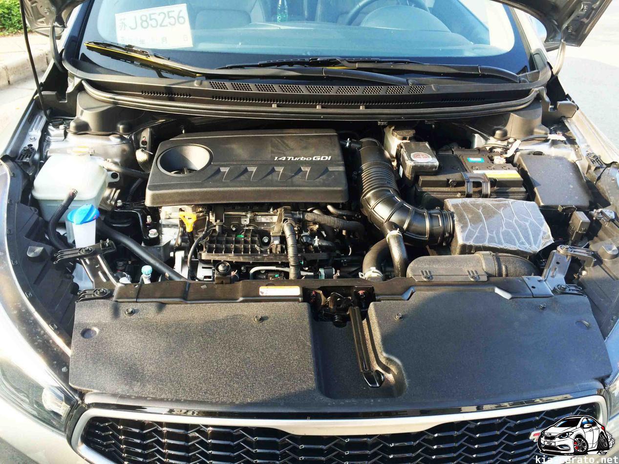 engine 1.4 t-gdi KIA Cerato (K3) 2017 facelift by Zeroing in KIA Cerato (k3) 2016 facelift