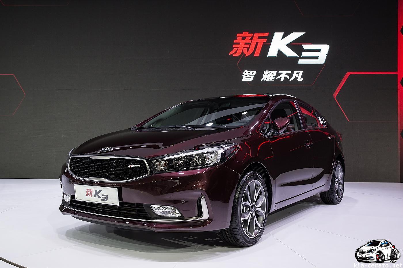 KIA Cerato (K3) 2017 facelift