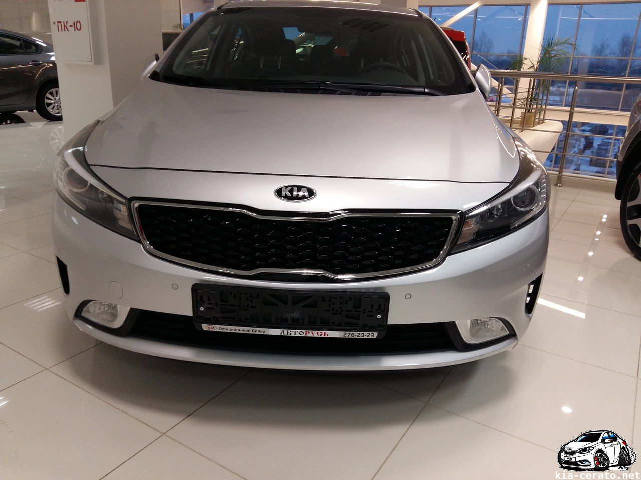 KIA Cerato 2017 рестайлинг серебро by Zeroing in KIA Cerato (k3) 2016 facelift