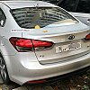 KIA Forte (K3) 2016 back by Zeroing