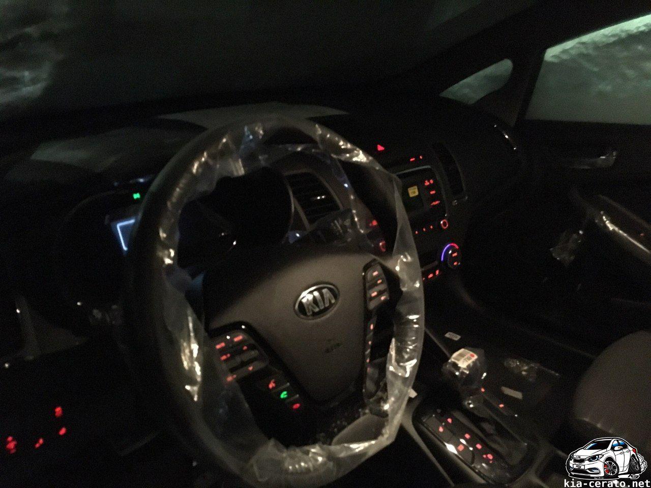 рулевое колесо KIA Cerato 2017 рестайлинг